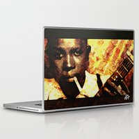 robert farkas Laptop & iPad Skins featuring Robert by Darla Designs