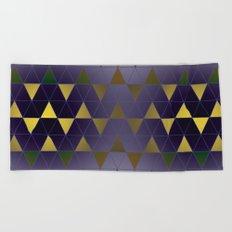 Golden Triangles Beach Towel