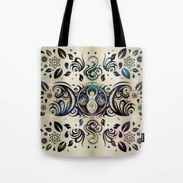 Triple Moon Goddess Moonlight purple #2 Tote Bag