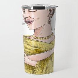 The Sopranos: Maria Callas Travel Mug