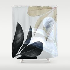 Plant Leaves, Botanical, Foliage Shower Curtain