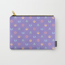 Lilac and Pastels SW Pattern Carry-All Pouch