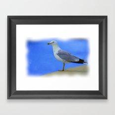 The Bird Framed Art Print