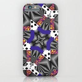 Mashed-up Print iPhone Case