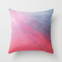 pinkskycalling Throw Pillow