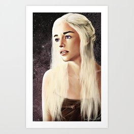 First of Her Name Art Print