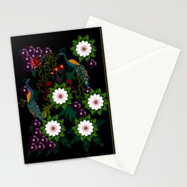 Fusion Of Traditional And Modern Era Print Of Bharat Stationery Cards