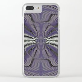 Wart Eye Pattern 5 Clear iPhone Case