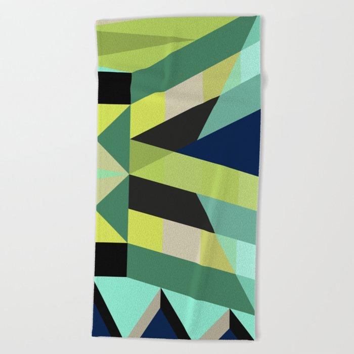 Geometric#25 Beach Towel