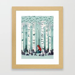 The Birches Framed Art Print