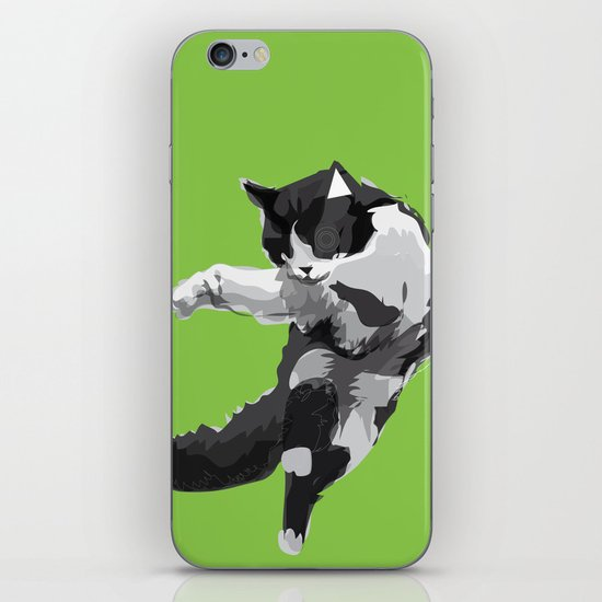 Dancing Cat iPhone & iPod Skin