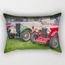 Classic Cars Rectangular Pillow