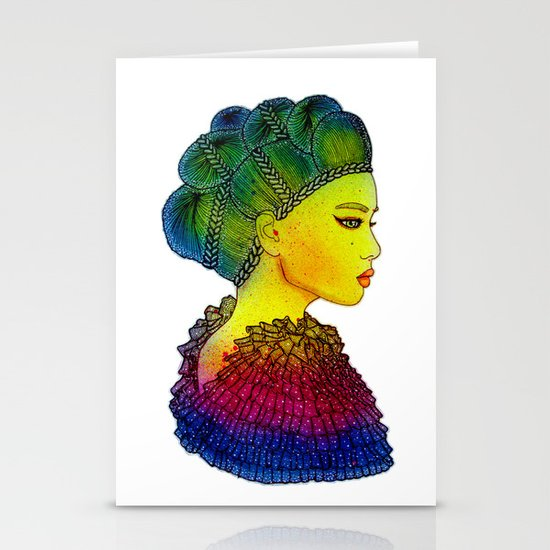 Rainbow Power Girl! Stationery Cards