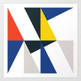 Walter Allner inspired 01 Art Print