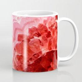 Macro Red Agate Coffee Mug