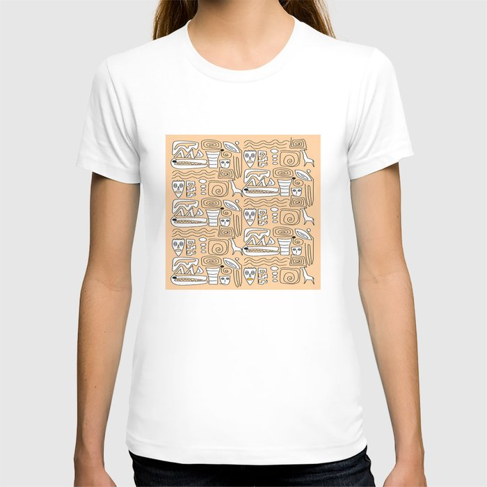 African Tribal  Symbols T-shirt