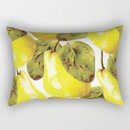 Pear pattern #society6 Rectangular Pillow