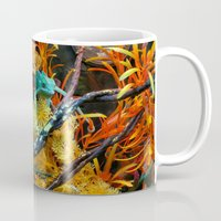 chameleon Mugs featuring Chameleon by Geni