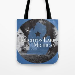 Houghton Lake, MI Tote Bag