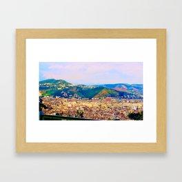 Italian Cityscape Framed Art Print