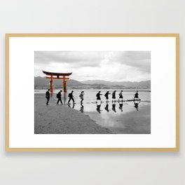 Itsukushima Shrine, Miyajima Island Framed Art Print