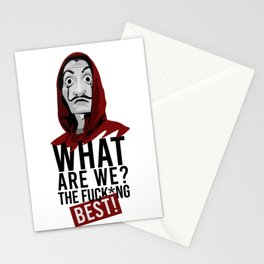 Money Heist Stationery Cards