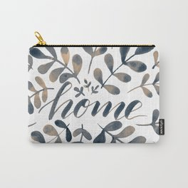 Watercolor home foliage – neutral Carry-All Pouch