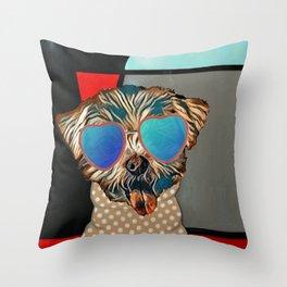 Doggie Time Throw Pillow