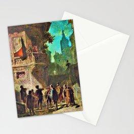 Spanish Serenity - Carl Spitzweg Stationery Cards