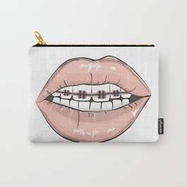 Lips vs braces Carry-All Pouch