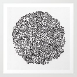 Sharp Gems and Goobers Art Print