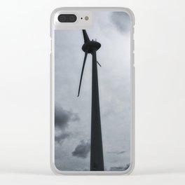 Wellington Wind Turbine Clear iPhone Case