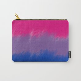 Bi Pride Flag Carry-All Pouch