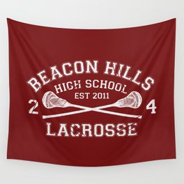 Beacon Hills Lacrosse Wall Tapestry