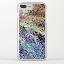 Blood Tears Love Clear iPhone Case