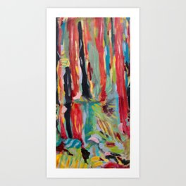"""Redwoods"" Art Print"