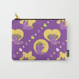 Cute little rock unicorn prince in love Carry-All Pouch