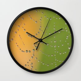 Web Jewels Wall Clock
