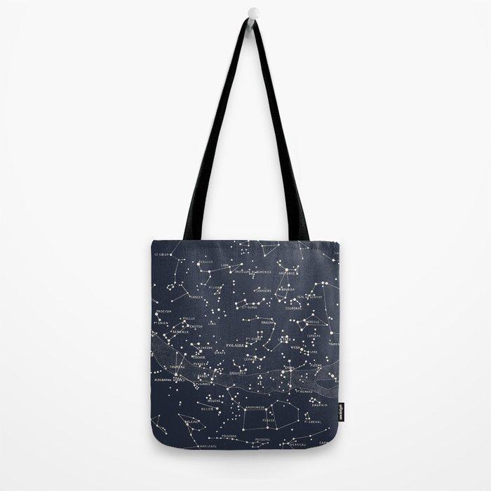 Carte du Ciel I Tote Bag