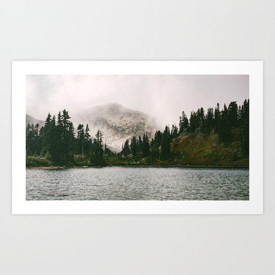 Landscape #photography #fog Art Print