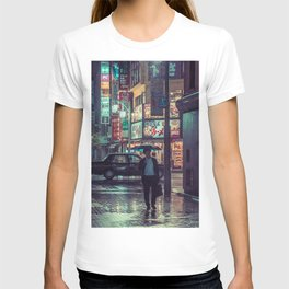 The Smiling Man // Rainy Tokyo Nights T-shirt