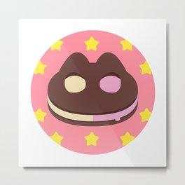 Cookie Cat! [textless] Metal Print