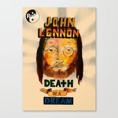 lennon dream Canvas Print