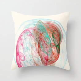Bulb Nebula Throw Pillow