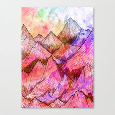 Peaks of Colours Canvas Print