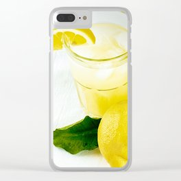 Lemonade And Vodka Clear iPhone Case