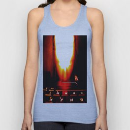 Moses Hyper Flame 03; A.i.; Tech. Unisex Tank Top