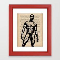 No Word Was Spoken Framed Art Print