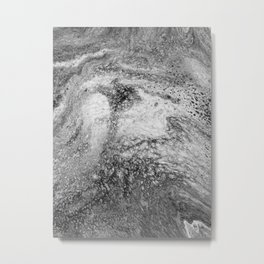 Abstract Artwork Greyscale #4 Metal Print