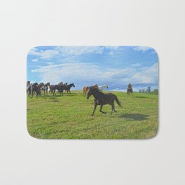 The Round Up Bath Mat